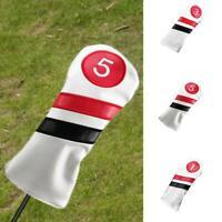 Golf Headcovers Set Driver Fairway Hybrid UT für 1 # 3 # 5 # Woods Golf Putter