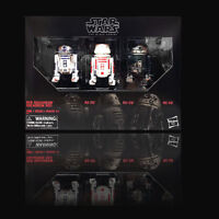 "Star Wars Hasbro Black Series 6"" Red Squadron R2-D2 Astromech 3 Pack NEW"