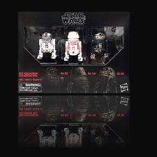 "D3 Star Wars Hasbro Black Series 6"" Red Squadron R2-D2 Astromech 3 Packs"