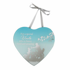 Special Uncle Reflections From The Heart Mirrored Hanging Plaque Gift