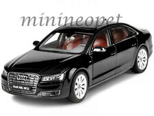 KYOSHO 09232 BK 2014 14 AUDI A8 L W12 1/18 DIECAST MODEL CAR PHANTOM BLACK