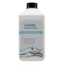 WHO Hand Hände Desinfektionsmittel 500 ml aus Alkohol (96,6%) Glycerin hergestel