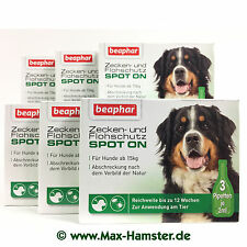 Spot On Protection Tiques Grand Chiens Beaphar - 6 Emballages- = 18 Pipettes Á