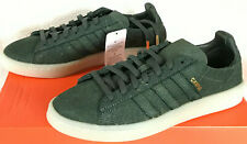 Adidas Campus Crafted C.F. Stead BW1249 Premium Green Suede Futbol Shoes Men's 8