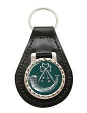 Light Infantry, British Army Leather Key Fob