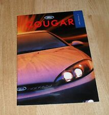 Ford Cougar Brochure 1999 - 2.0 16v & 2.5 24v Coupe
