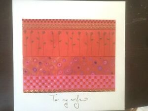 RARE Embossed Papyrus Turnowsky Mother's Day Card - To my Wife, Love of my Life