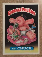 Garbage Pail Kids 1st Series Up Chuck #5 CRAZY FACTORY ERROR GIANT CARD! TWT