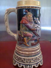 MUSICIAL STEIN - VERY OLD COLLECTABLE GERMAN VINTAGE MANCAVE BREWERIANIA
