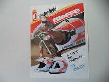 advertising Pubblicità 1991 CASCO HELMET BIEFFE MX CHESTERFIELD SCOUT e YAMAHA