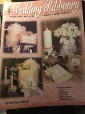 Wedding Ribbonry Craft Booklet Pre Owned New Condition