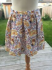 Super Cute Topshop Bambi Deer Skirt Size 10 BNWT