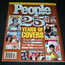 1999 *DELUXE* PEOPLE issue 25 YEARS OF COVERS (NICE MINT COPY)