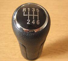 Gear Shift Knob 6 Speed Leather Imitation Audi A6 C6 A3 8P 8L A4 B5 B6 B7 TT Q7