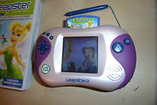 LEAP FROG LEAPFROG LEAPSTER 2 PINK CONSOLE + DISNEY FAIRIES GAME