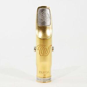 Theo Wanne DURGA2 Gold 10 Tenor Saxophone Mouthpiece DEMO MODEL