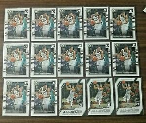 2017-18 Panini Optic Giannis Antetokounmpo Lot (15) Milwaukee Bucks #81 & #16