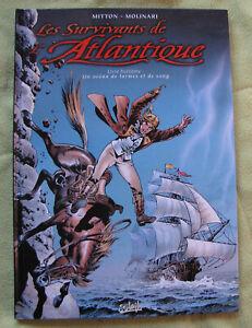 Les survivants de l'atlantique (Mitton-Molinari) - Tome 8 - EO - TBE