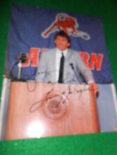 Photo Autograph TOMMY JOE EAGLES Former Head Basketball Coach AUBURN