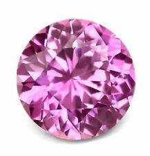 Natural rosa tormalina 1mm round cut Gemstone GEM