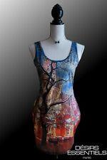 Robe courte femme Collection Galaxy Crépuscule d'Automne