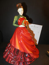 Royal Doulton Pretty Ladies 2012 Christmas Gift Figurine HN HN 5547 Hand Signed
