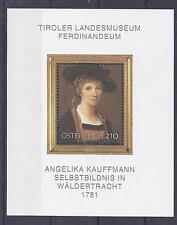 Österreich 2007 ** Block 39 Kauffmann Postfrisch Kunst siehe scan