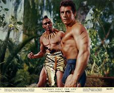 Gordon Scott, Woody Strode - Tarzan's Fight for life (1958) -  8 1/2 X 11