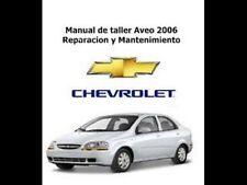 Manual de Reparación Chevrolet Aveo - 2006-ESPAÑOL