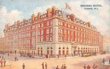 England London W.I. Berners Hotel, Vintage Cars Auto Voitures