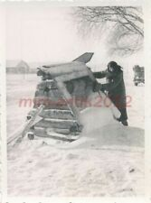 Foto, WK2, Ostfront, Ssemjassina, der zugefroene Brunnen, 30.12.1941, 5026-463