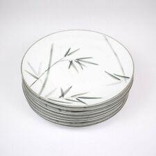 "Noritake China Bambina 10 5/8"" Dinner Plate 8 pc Vintage Fine China Set"