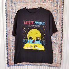 Weezer Panic! At The Disco Summer Tour 2016 Concert T Shirt Adult Large