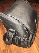Large Ameda Breast Pump Black Travel Bag Diaper Bag Pockets