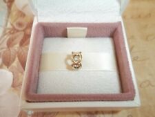 Genuine Authentic Pandora 14ct Gold Open Heart Spacer Charm 750454 G585 ALE