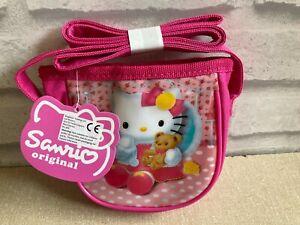 Sanrio Hello Kitty Small Pink Bag Kawaii - New With Tags Unwanted Gift Christmas