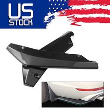 Universal Glossy Black Car Rear Bumper Lip Diffuser Splitter Canard Protector Us Fits Toyota Yaris