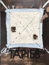 ANTONI TAPIÈS AFFICHE LITHOGRAPHIE GALERIE MAEGHT BARCELONE 78/79