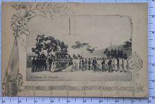 426) Cartolina Allievi Carabinieri Reali Deposito di Palermo 1905