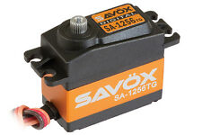 Savox SC-1256 TG estándar Digital Servo Coreless 20KG! SC-1256TG 1/8th Volante
