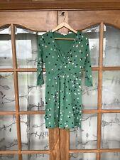 Women's Boden Green Jersey Dress Ladies size 10