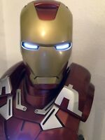 Sideshow Collection Iron Man Mark VII in Life Size Limited Edition OVP