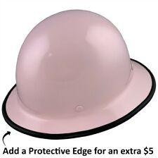 Msa Skullgard Full Brim Hard Hat With Staz On Suspension Light Pink