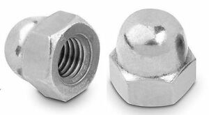 Dome Acorn Cap Nuts M4 M5 M6 M8 M10 M12 Stainless Steel A2