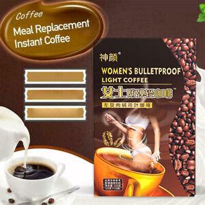 Women's Bulletproof Instant Fitness Black Coffee L-carnitine Lotus Leaf Coffee/