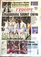 L'Equipe Journal 21/4/2001; 1/2 finales euroligue basket/ Strasbourg sourit enfi