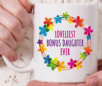 Bonus Daughter Gifts For Stepdaughter Mug For Bonus Daughter Coffee Mug