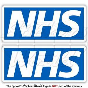 NHS Bumper Sticker 115mm Doctor Nurse Volunteer KeyWorker Support Virus x2