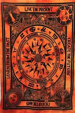 Cycle Of The Ages Wall Hanging Cotton Beautiful Design Abstract Tapestry Poster