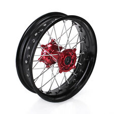 17*4.25 Rear Supermoto Complete Wheel Rim Fit Honda CRF450R 13-16 CRF250R 14-17